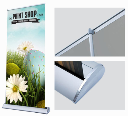 Custom retractable banners printing in Panama City Beach
