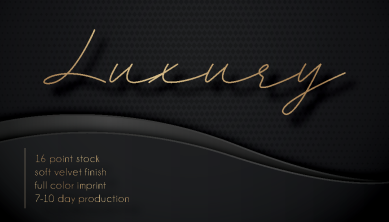 Luxury business cards Panama City Beach