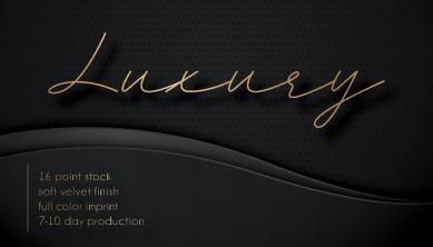 Luxury business cards Panama City Beach