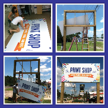 Max metal signs printing Panama City Beach