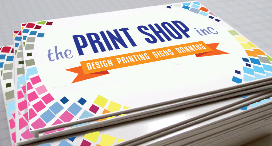 The Print Shop: More Than Just Prints and Copies! - pvc signs